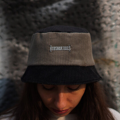 Pre-order | Bucket hat | Black/Gray Jeans