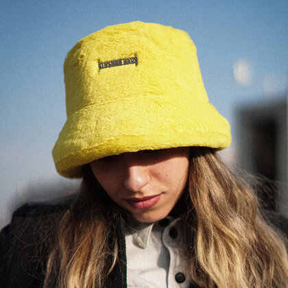 Pre-order | PIMP BUCKET HAT | YELLOW