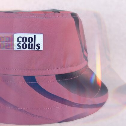 Chameleon Two Sided Bucket Hat | Collab with Cool Souls
