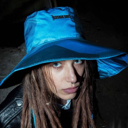 CAPELLA HAT | LARGE | REFLECTIVE BLUE