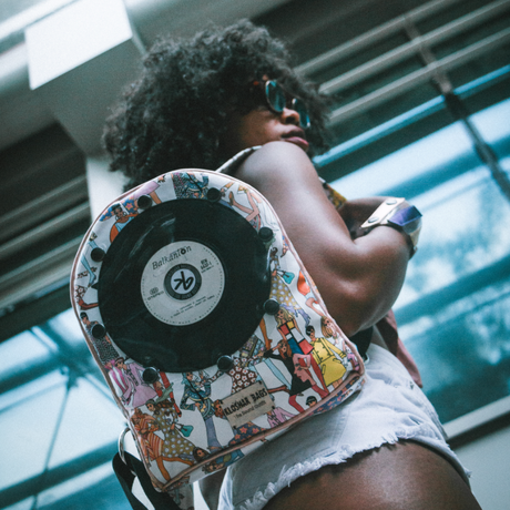 Pre-order Mini BACKPACK with 7inch vinyl record | BOHO