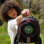 Pre-order | Mini Backpack with 7 inch vinyl record | ETHNO