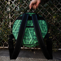 O Backpack by KLOSHAR BAGS | EPIC COLLECTION | GREEN